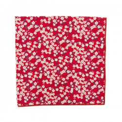 Red Mitsi Valeria Liberty pocket square