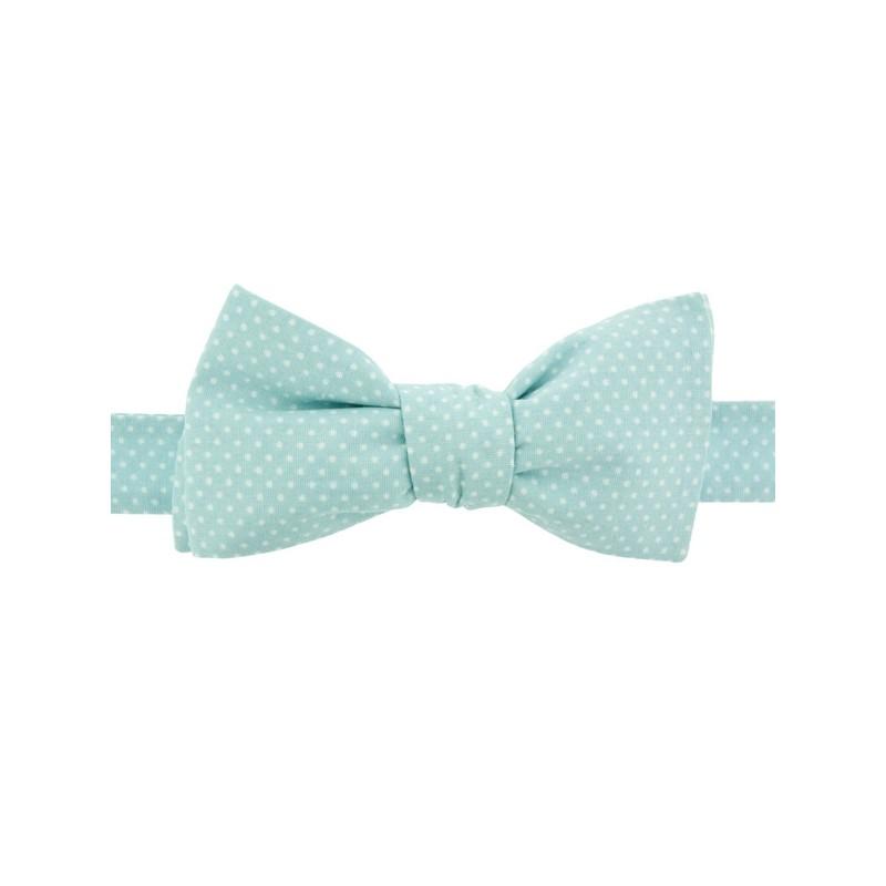 Noeud Papillon Mini Pois Baby Blue
