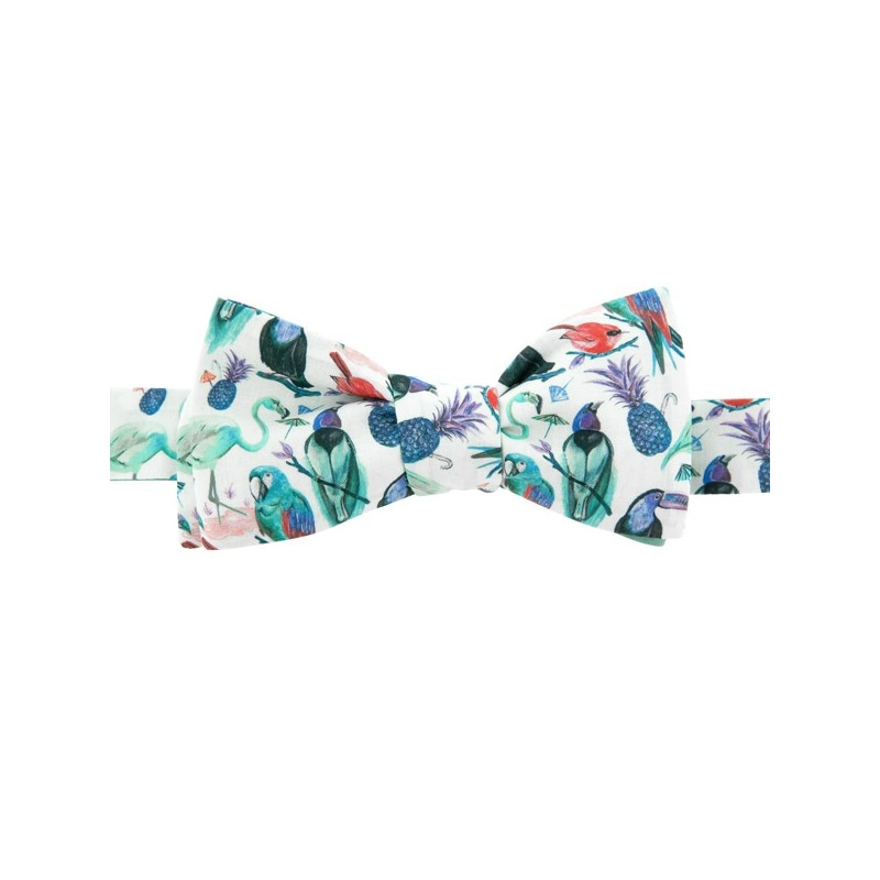 Red Palm tree Liberty Bow Tie