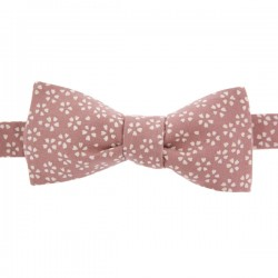 Dusty pink Sagano Japanese Bow tie