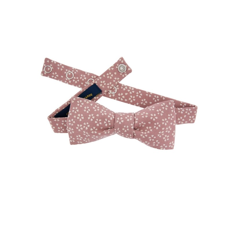 759cce6767a8 Dusty pink Sagano Japanese Bow tie
