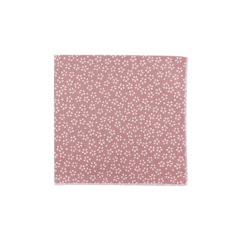 Pochette de costume Japonais Sagano Vieux Rose