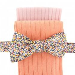 Chaussettes fil d'Ecosse Pêche