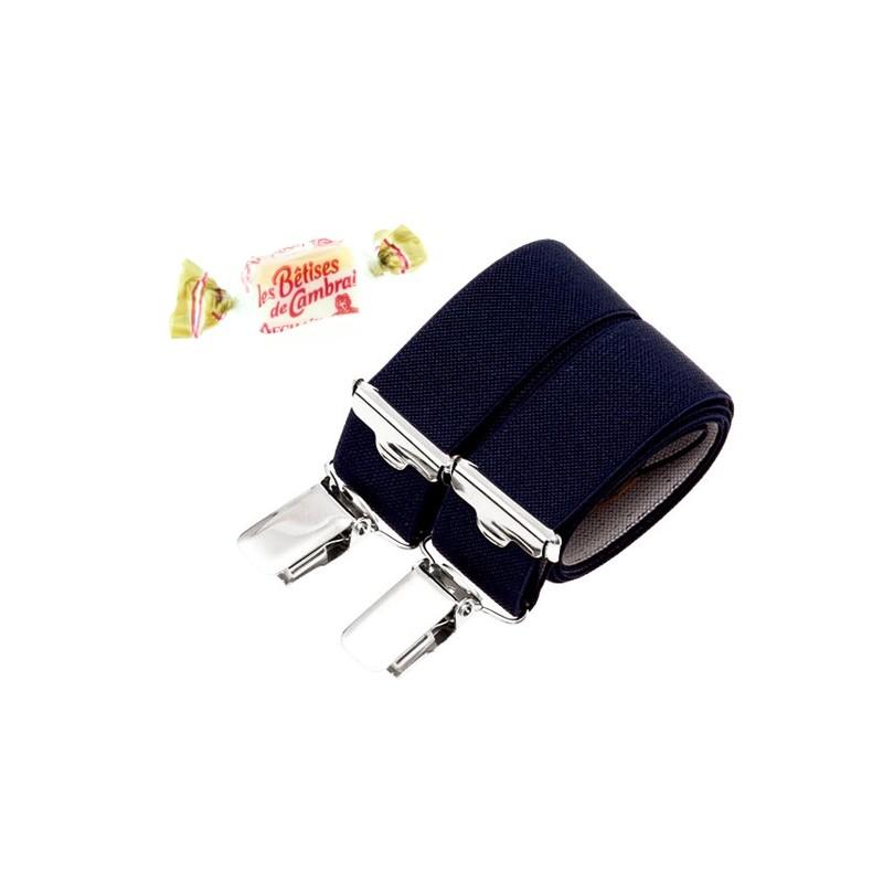 vente usa en ligne magasiner pour authentique économiser Bretelles ENFANT bleu marine BERTELLES