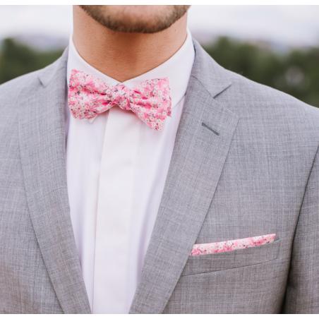 Blush Mitsi Valéria Liberty bow tie