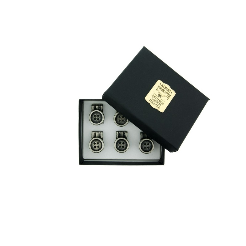 Pack 6 boutons - Albert Thurston