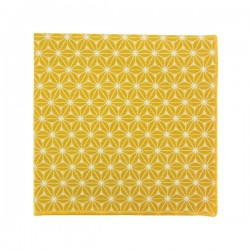 Saffron Yellow Fuji pocket square