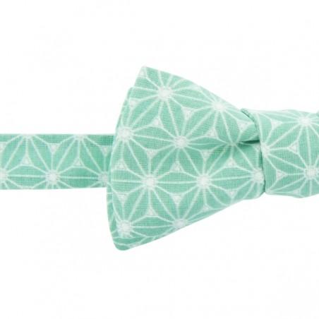 Noeud papillon Fuji Vert d'eau
