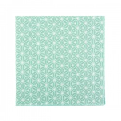 Mint Fuji pocket square