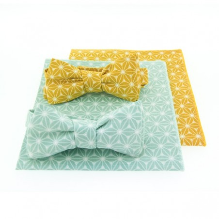 Mint Fuji Bow Tie