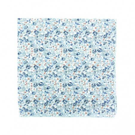 Light blue Eloise Liberty pocket square