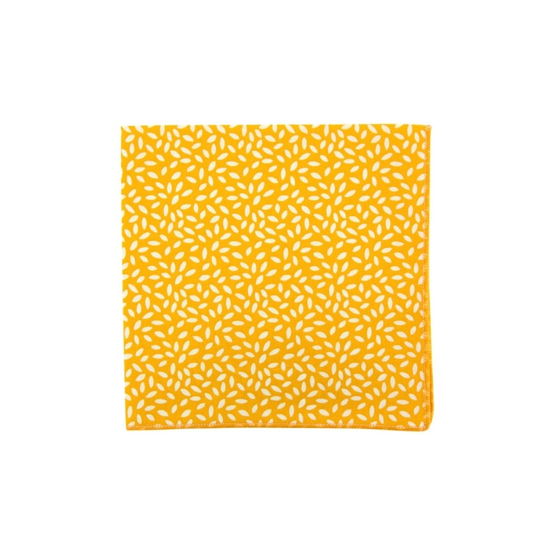 Yellow Rice pocket square