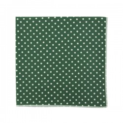 Khaki Polka dot pocket square