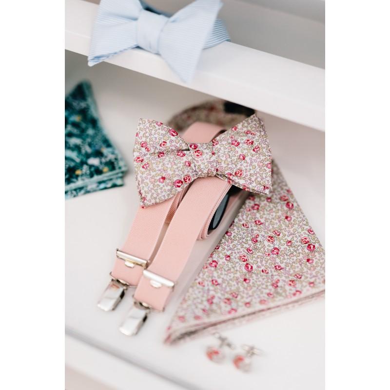 recherche d'officiel vente usa en ligne comment avoir Noeud papillon Liberty Eloise rose clair