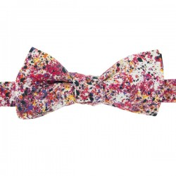 Red Graffiti Liberty Bow Tie