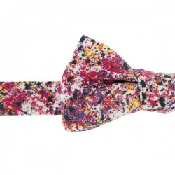 Noeud Papillon Liberty Graffiti rouge