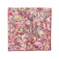 Pochette de costume Liberty Graffiti rouge