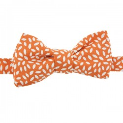 Pumpkin Orange Rice Bow Tie