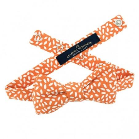 Pumpkin Orange Rice Bow Tie