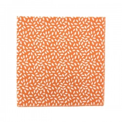 Pumpkin orange rice pocket square