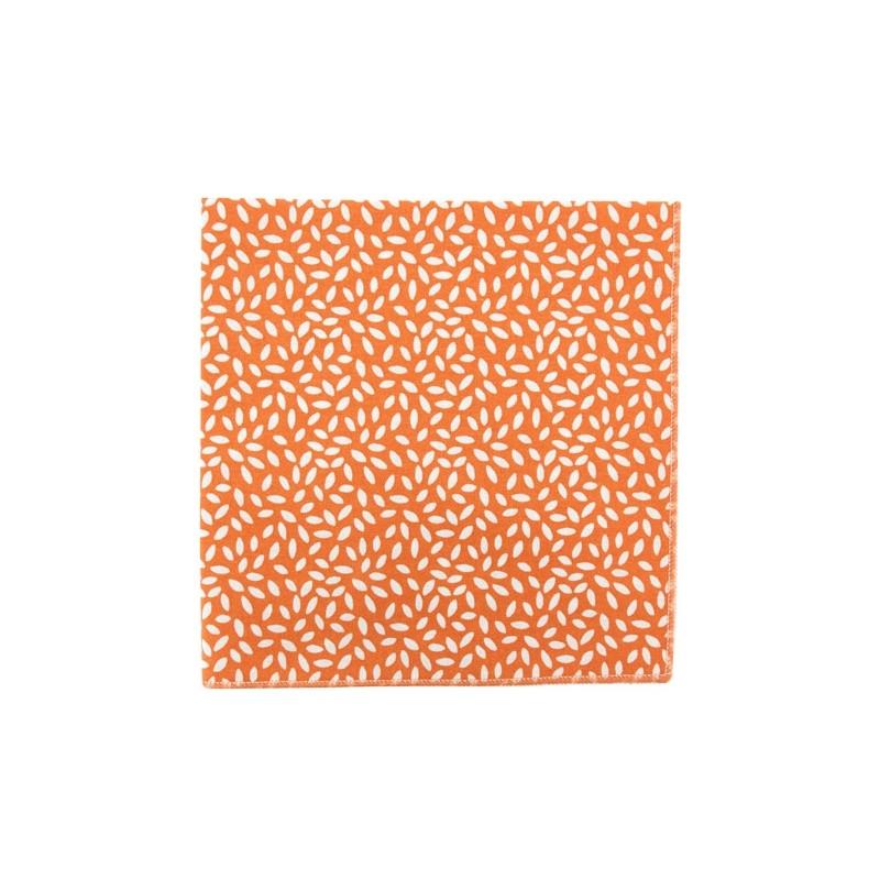 Pochette de costume Grain de Riz Orange Citrouille