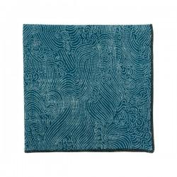 Pochette de costume Japonais Storm bleu denim