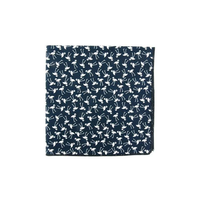 Pochette de costume Mini Flamingo Marine