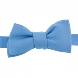 Cornflower blue bow tie