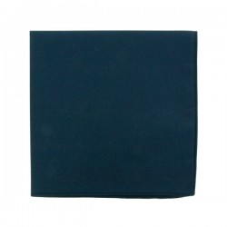 Saphir blue pocket square