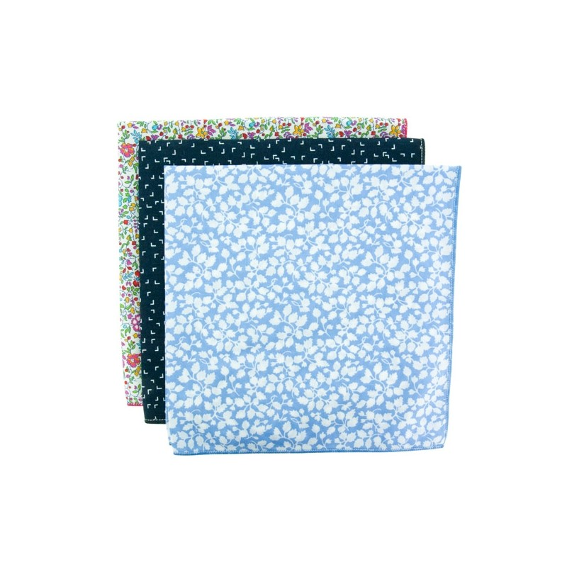 JERSEY 3-Pack Pocket Square