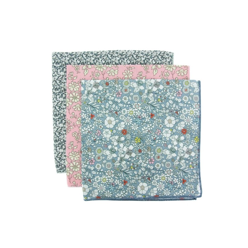 MANCHESTER 3-Pack Pocket Square
