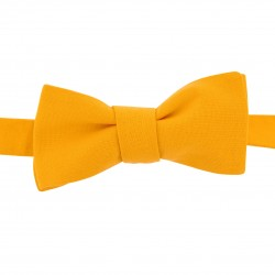 Noeud Papillon jaune bouton d'or Slim Colonel
