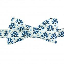 Noeud papillon bleu marine Slim