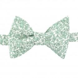 Noeud papillon vert amande Liberty Chamomile Classique
