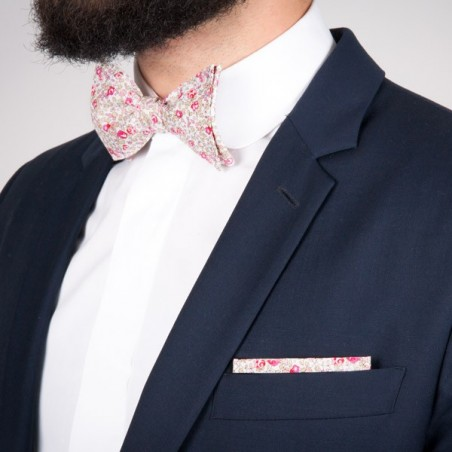 Pink Eloise Liberty Bow Tie