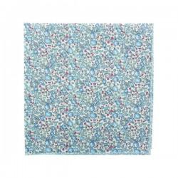 Lavender blue Eloise Liberty pocket square
