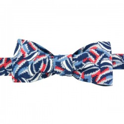 Navy blue and red Tropico Liberty Bow Tie