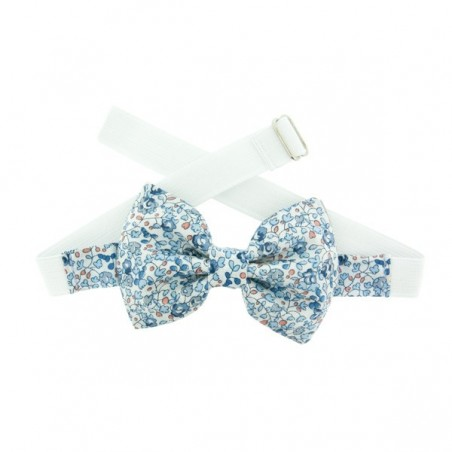 Light Blue Eloise Liberty Kid Bow Tie