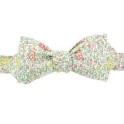 Green/Pink Katie & Millie Liberty bow tie