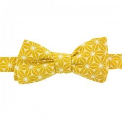 Saffron Yellow Fuji Bow tie