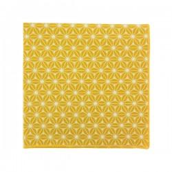 Saffron Yellow Fuji pocket square
