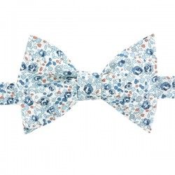 Light Blue Eloise Liberty Bow Tie