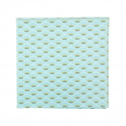 Frost Shell pocket square