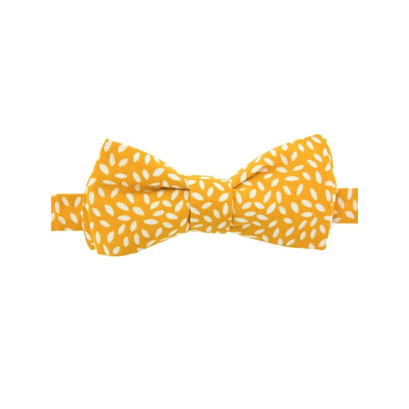 Yellow Rice Bow Tie