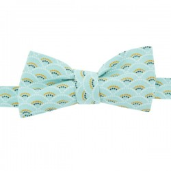 Frost Shell Bow Tie