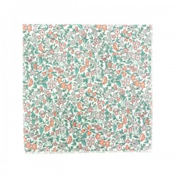 Peach GreenAVA Liberty pocket square