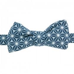 Prussian Blue Fuji Bow Tie