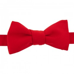 Tomato Red bow tie